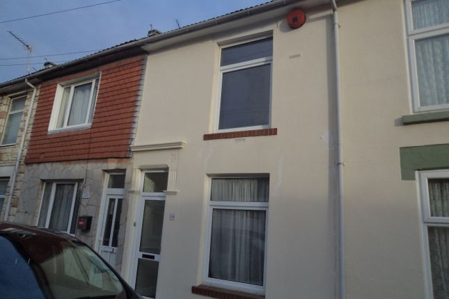 Thumbnail Terraced house to rent in Barnes Road, Portsmouth