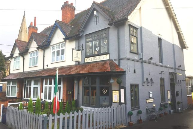 Thumbnail Restaurant/cafe for sale in Framework Knitters Cottages, Stoughton Road, Oadby, Leicester