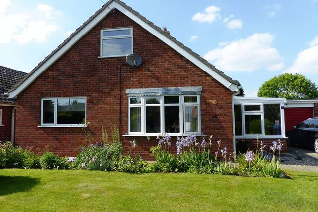 Thumbnail Detached bungalow for sale in Private Lane, Normanby-By-Spital, Market Rasen