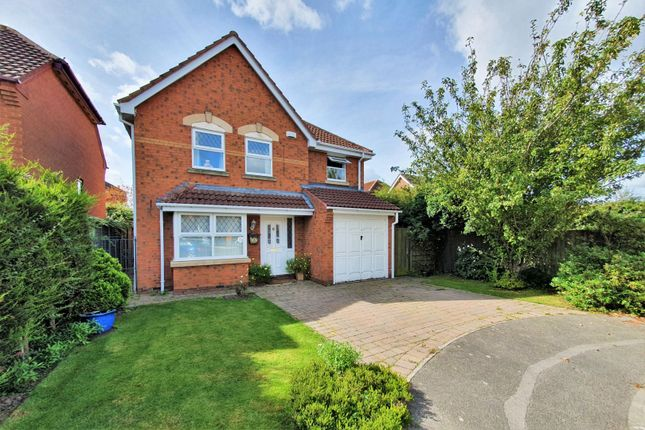 Thumbnail Detached house for sale in Glean Close, Broughton Astley, Leicester