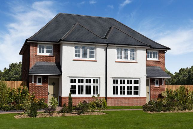 "Thumbnail Semi-detached house for sale in ""Ludlow"" at Heol Rufus, Radyr, Cardiff"