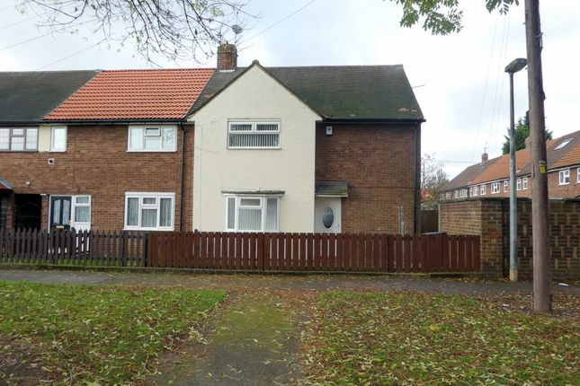 Thumbnail End terrace house to rent in Brent Avenue, Longhill, Hull, East Riding Of Yorkshire