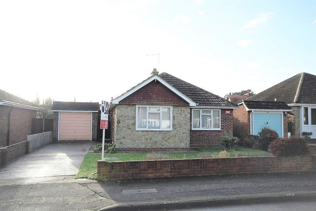 Thumbnail Detached bungalow for sale in Summerfield Avenue, Whitstable