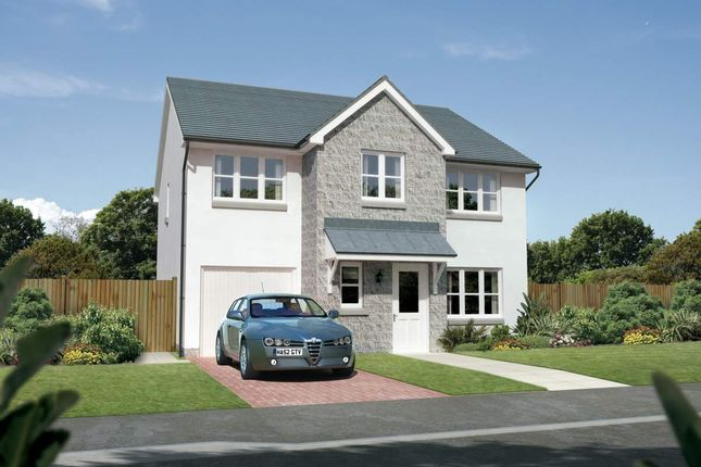 "Thumbnail Detached house for sale in ""Heddon"" at Old Lang Stracht, Kingswells, Aberdeen"