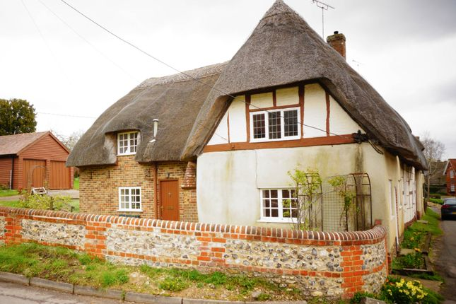 Thumbnail Cottage for sale in Longstock, Stockbridge, Hampshire