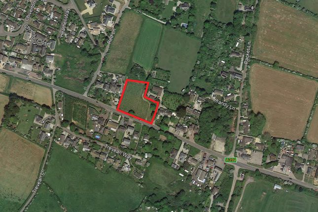 Aerial Image of Development Site For 5 Houses, Rosudgeon, Penzance TR20