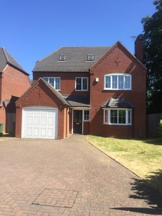 Thumbnail Detached house to rent in Mirbeck Close, Wolverhampton