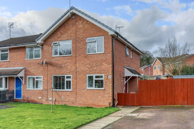2 bed end terrace house for sale in Bilbury Close, Walkwood, Redditch B97