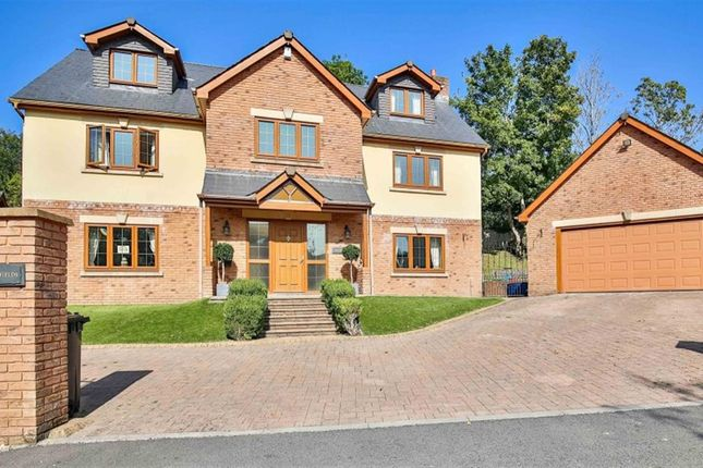 Thumbnail Detached house for sale in Captains Hill, Trelewis, Treharris