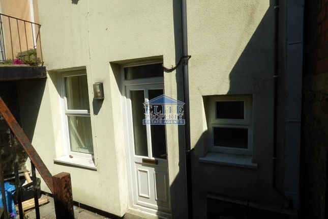 Thumbnail Flat for sale in 27A Adare Street, Ogmore Vale, Bridgend.