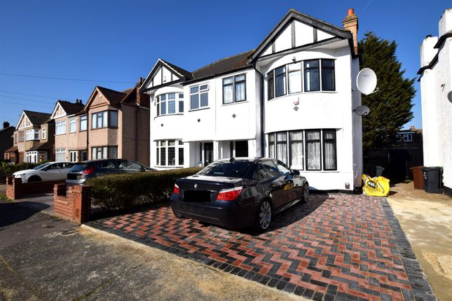 Thumbnail Semi-detached house for sale in Geneva Gardens, Chadwell Heath, Romford