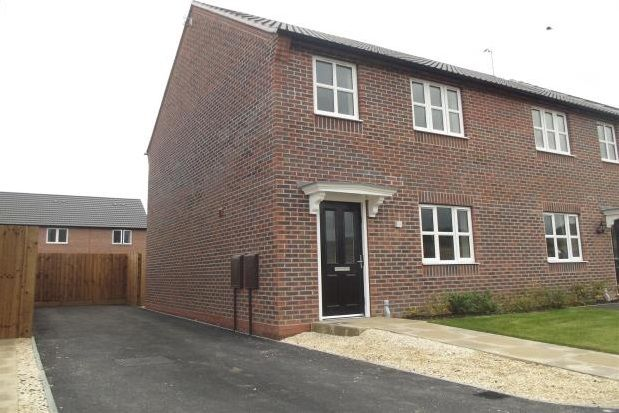 Thumbnail Semi-detached house to rent in Merlin Road, Mansfield Woodhouse, Mansfield