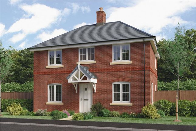 "Thumbnail Detached house for sale in ""Bretby"" at Barnards Way, Kibworth Harcourt, Leicester"