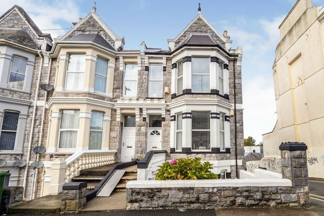 Thumbnail End terrace house for sale in North Road East, Plymouth