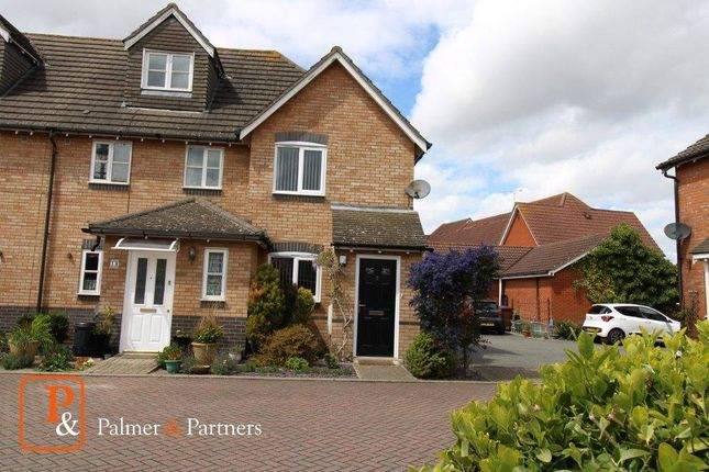 2 bed end terrace house to rent in Darter Close, Ipswich IP3