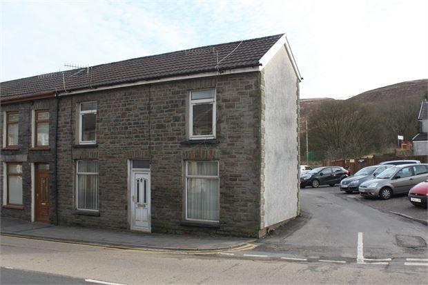Thumbnail End terrace house to rent in High Street, Cymmer, Porth, Rhondda Cynon Taff.