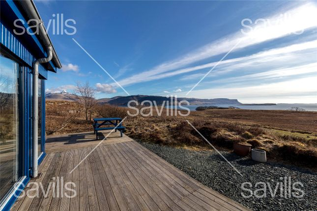 Decking Area of Torr Buan House, Ulva Ferry, Isle Of Mull PA73