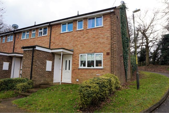 Thumbnail End terrace house for sale in Porchester Close, Longfield