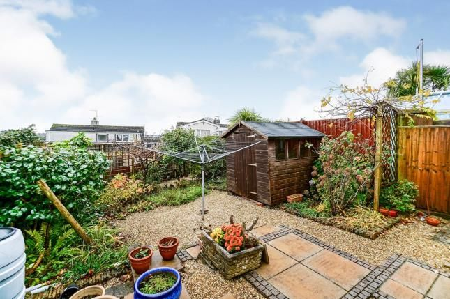 Rear Garden of Crownhill, Plymouth, Devon PL6