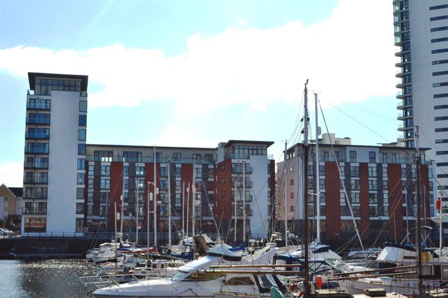 Thumbnail Flat for sale in 38 Meridian Wharf, Marina, Swansea