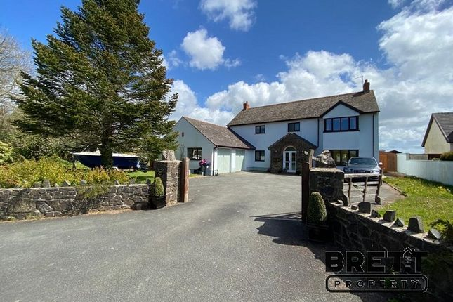 5 bed detached house for sale in Freshwater East Road, Lamphey, Pembroke, Pembrokeshire. SA71