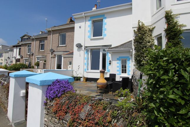 Thumbnail Terraced house for sale in Carew Wharf Business Centre, Marine Drive, Torpoint