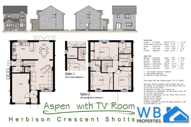 Thumbnail Detached house for sale in Herbison Crescent, Shotts