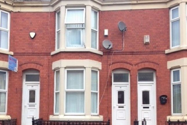 Thumbnail Property to rent in Connaught Road, Kensington, Liverpool