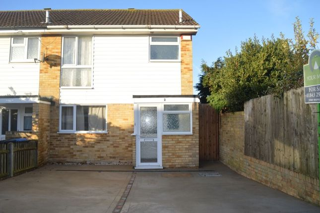 Thumbnail Semi-detached house to rent in Irvine Drive, Margate