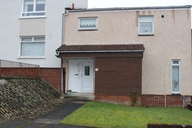 Thumbnail End terrace house for sale in Moidart Road, Port Glasgow