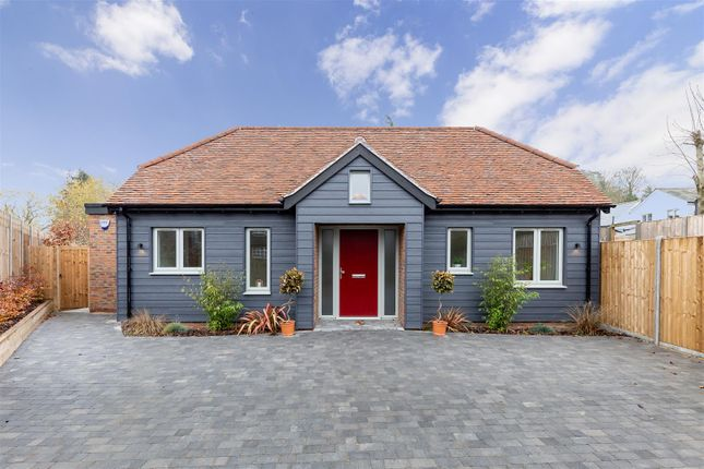 Thumbnail Detached bungalow for sale in Hitchin Road, Weston, Hitchin