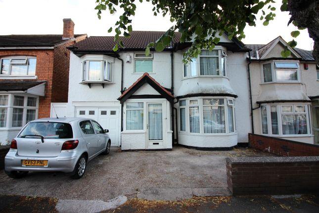 Thumbnail Semi-detached house for sale in Tetley Road, Sparkhill, Birmingham