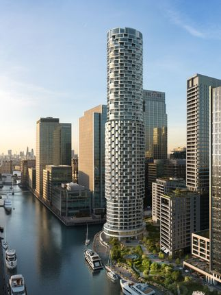 Thumbnail Flat for sale in Canary Wharf'S New District, Canary Wharf, London