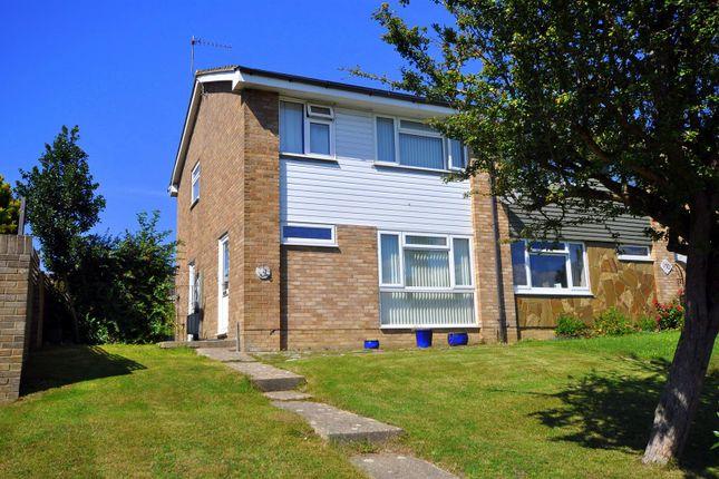 Thumbnail Semi-detached house for sale in Hazelwood Avenue, Hampden Park, Eastbourne