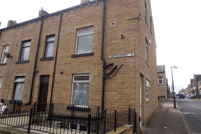 Thumbnail End terrace house to rent in Fenton Road, King Cross, West Yorkshire