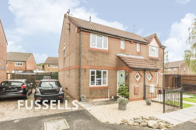 Thumbnail Semi-detached house for sale in Heol Cae Fan Heulog, Caerphilly