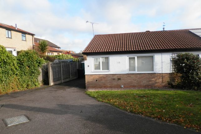 Thumbnail Semi-detached bungalow to rent in Windrush Close, Beeston, Nottingham