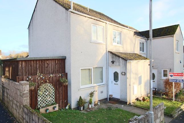 Thumbnail End terrace house for sale in Kirkton Of Liff, Liff, Dundee