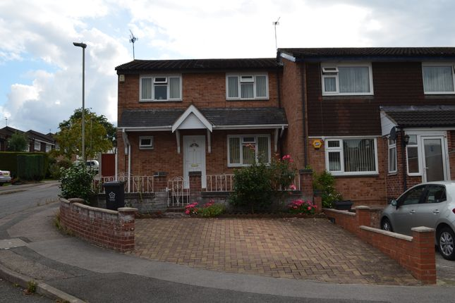 Thumbnail Semi-detached house to rent in Illingworth Road, Off Ambassador Road, Evington, Leicester
