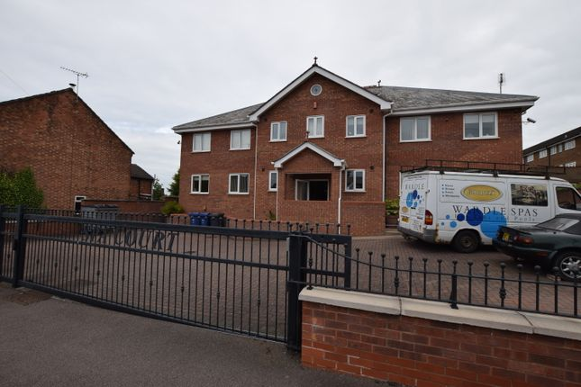 Thumbnail Flat to rent in Spa Court, Heath Road, Stapenhill, Burton