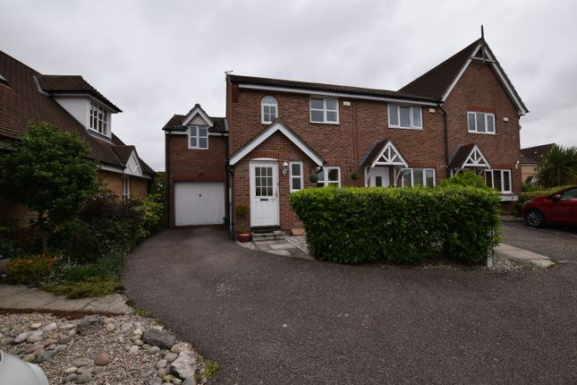 Thumbnail Semi-detached house for sale in Davenport, Church Langley, Harlow