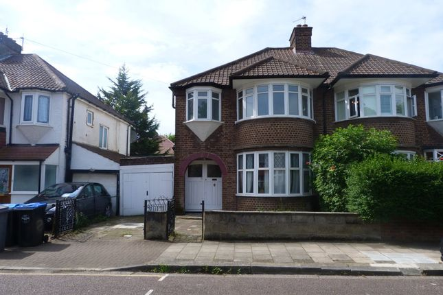 Thumbnail Terraced house to rent in Helena Road, London