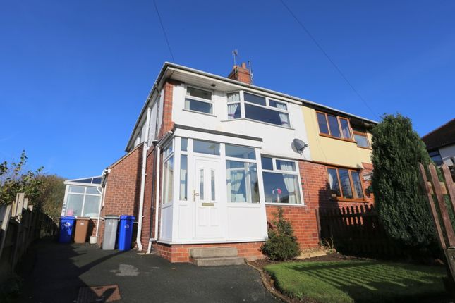 Thumbnail Semi-detached house for sale in Poplar Drive, Blurton