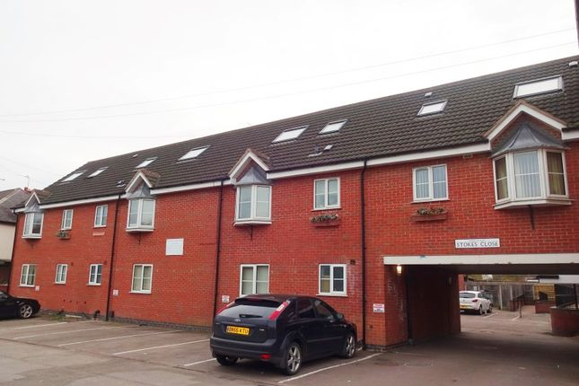Thumbnail Block of flats for sale in Stokes Close, Blaby, Leicester