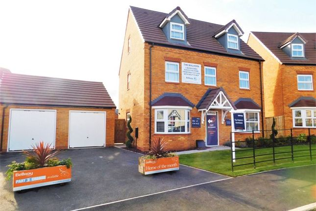 Thumbnail Detached house for sale in Sandpiper Drive, Mallard Walk, Stafford