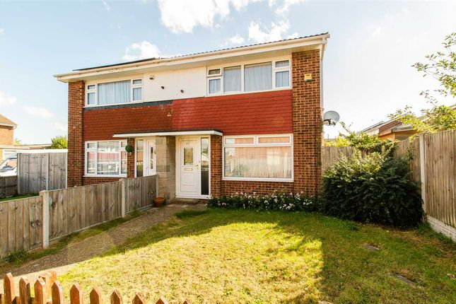 Thumbnail Semi-detached house for sale in Salisbury Close, Sittingbourne