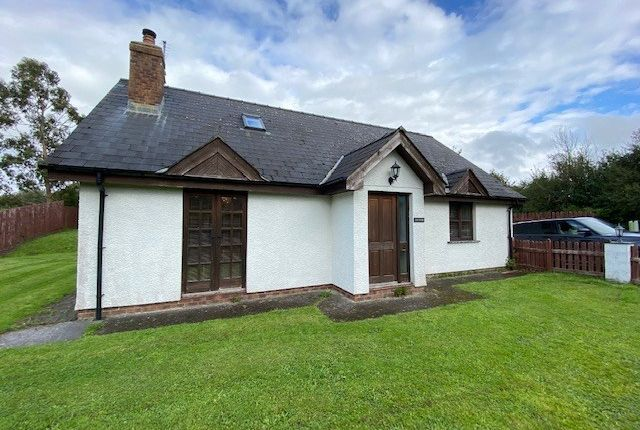 Thumbnail Bungalow for sale in Llanarth