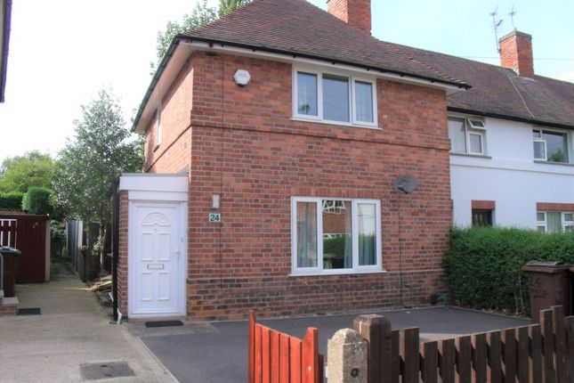 3 bed end terrace house to rent in Manton Crescent, Lenton Abbey, Beeston, Nottingham NG9