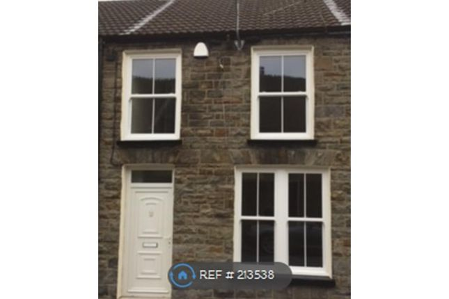 Thumbnail Terraced house to rent in Scott Street, Treorchy