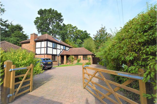 Thumbnail Detached house for sale in Fairwater Drive, New Haw